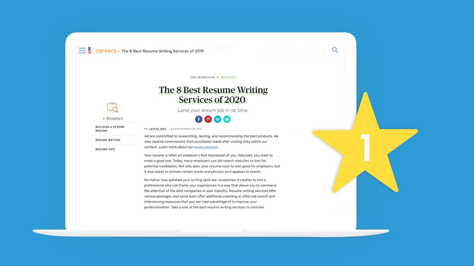 Hire The Best Of The Best To Write Your Resume Topresume